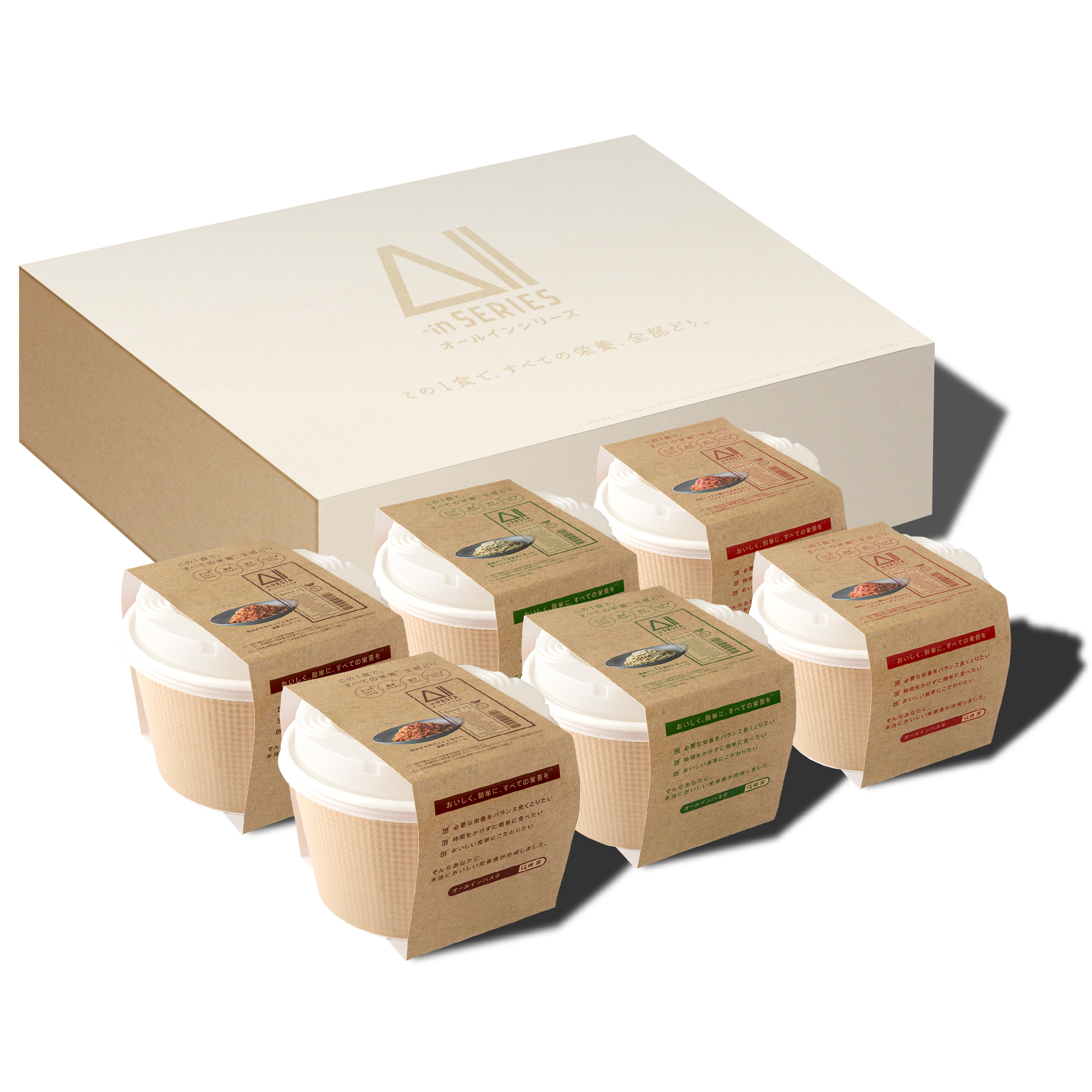 All-in PASTA GIFT BOX 6食入